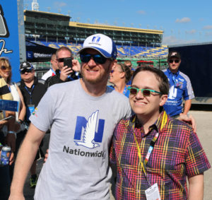 Dale Jr and Jeff small