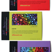 Color Pop Note Card Back Small