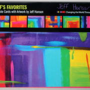 Jeff's Favorites Note Card set small