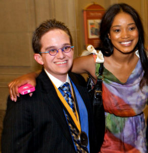 Jeff Hanson and Actress Keke Palmer