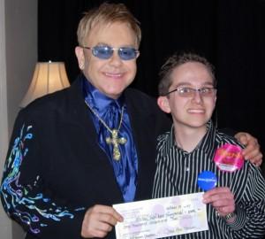 Jeff's Make A Wish with Sir Elton John