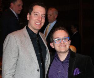 Kyle Busch and Jeff Hanson - Famous Friends