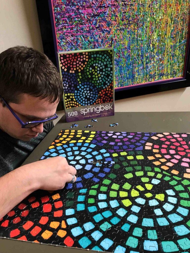 Jeff Hanson Art Puzzle