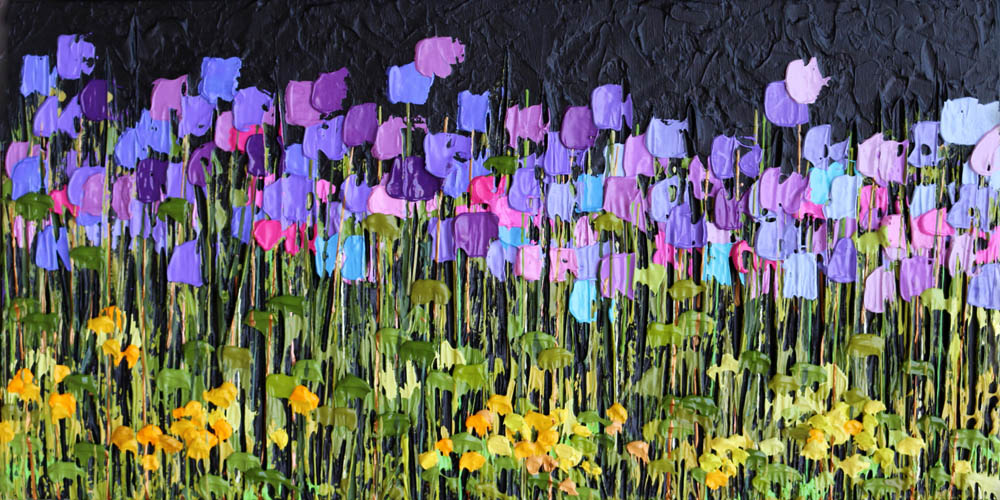 Jeff Hanson Art Barefoot in Provence Original Painting