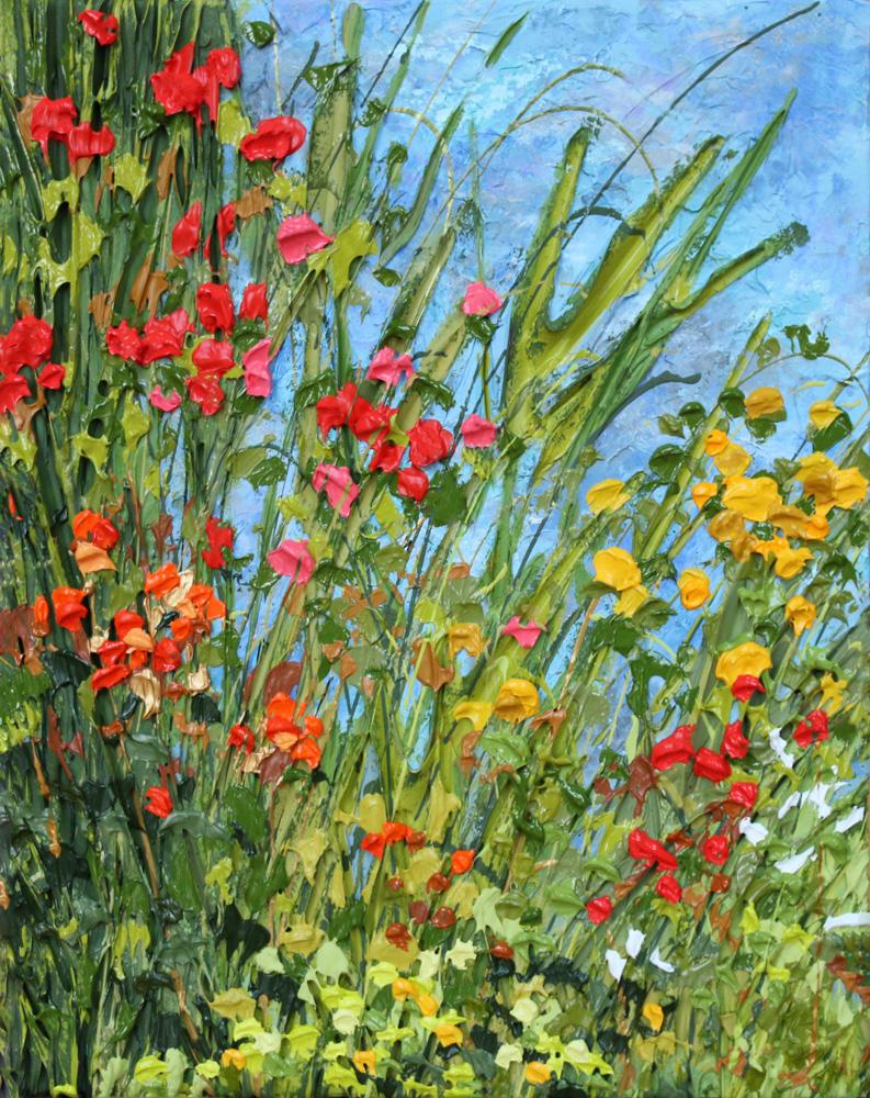Jeff Hanson Art - Sunny Dat at Stonehenge Original Painting