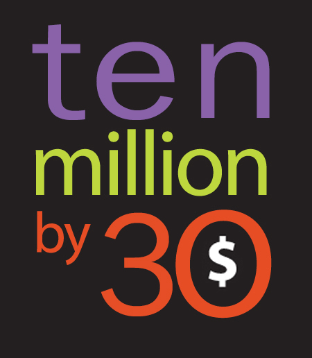 Ten Million By 30 Jeff Hanson Art
