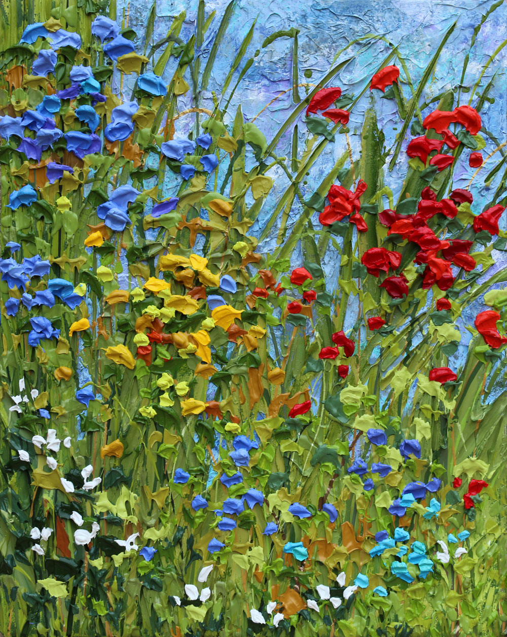 Tuscan Picnic - Jeff Hanson Art Original Painting