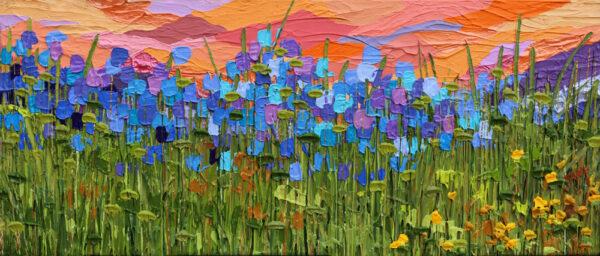 Weekend in Aspen 1 - Jeff Hanson Art Original Painting