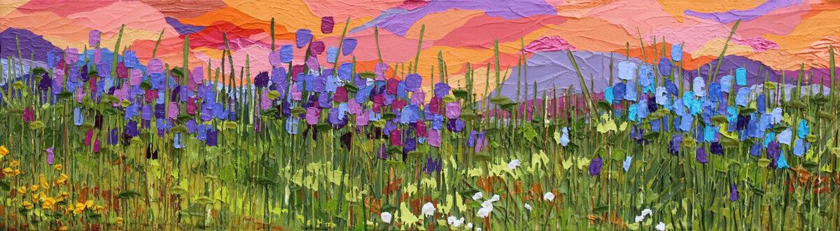 Weekend in Aspen 2 - Jeff Hanson Art Original Painting